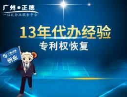 广州专利权恢复